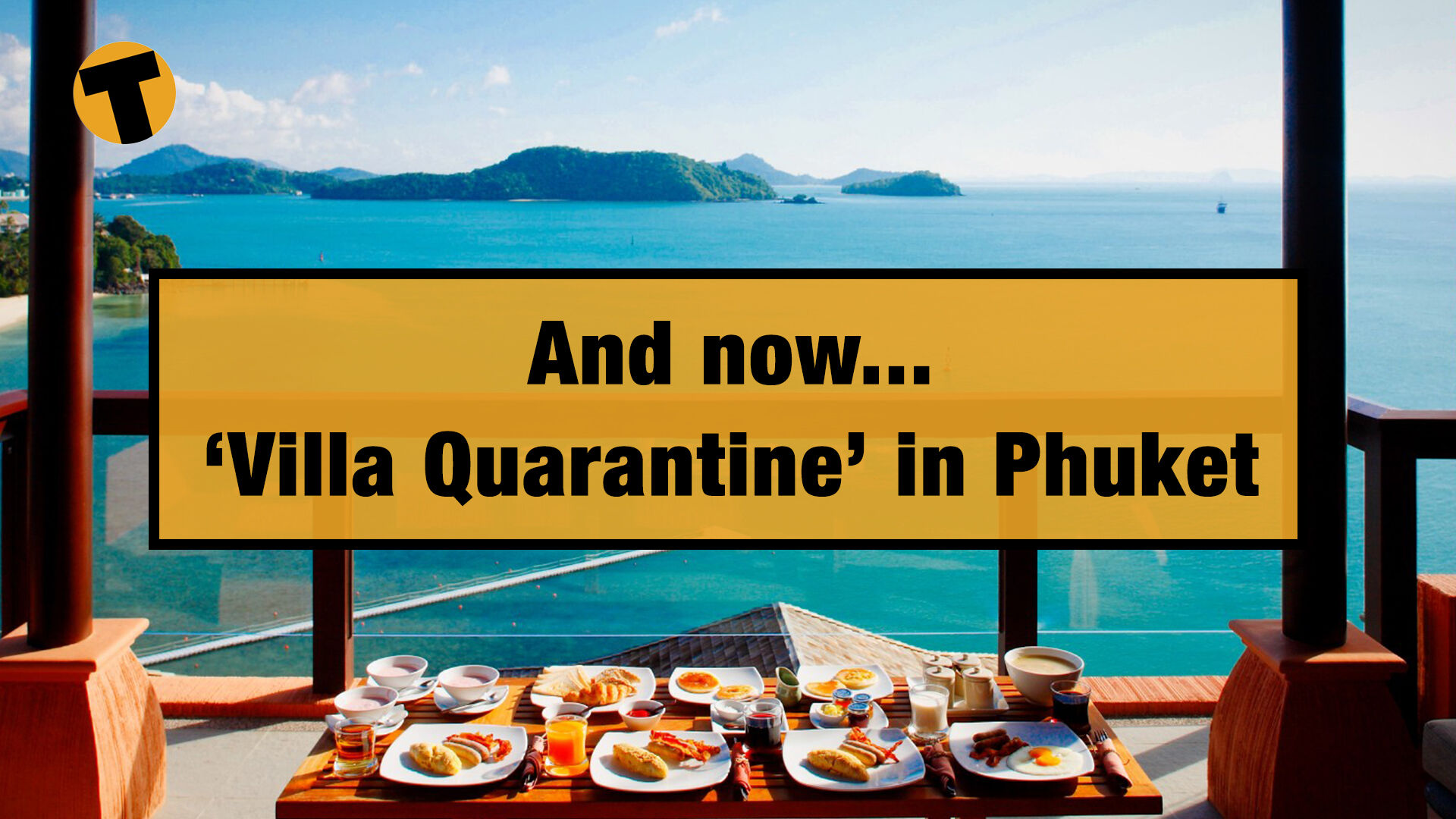 The all new 'villa quarantine' in Phuket, Thailand | VIDEO | The Thaiger