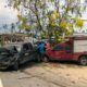 1 dead, 1 injured, 2 businesses damaged in 6-vehicle collision in eastern Thailand | Thaiger
