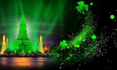 Bangkok's Wat Arun to go green as part of St Patrick's Day celebration | Thaiger