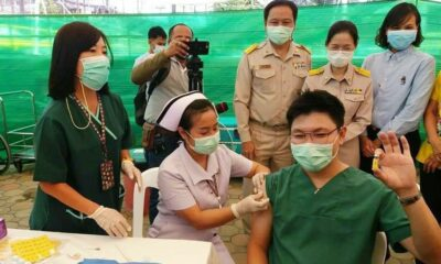 Vaccine rollout underway in Phuket as province receives 4,000 doses | The Thaiger
