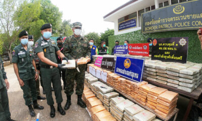 Police seize 920 kilograms of cannabis smuggled across the Mekong River | The Thaiger
