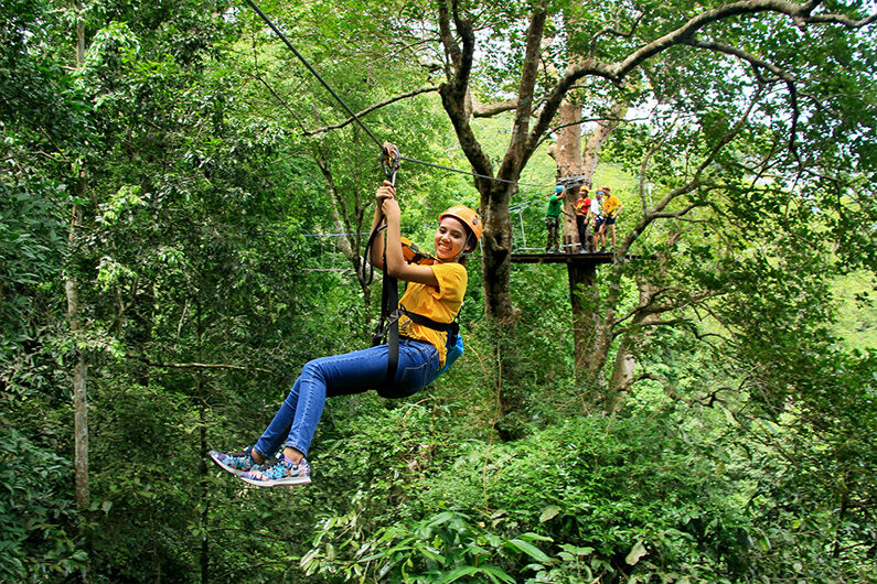 Thailand to improve safety for ziplining and adventure tourism | Thaiger
