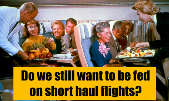 We're flying again, but passengers don't want to eat on short haul flights | VIDEO | The Thaiger