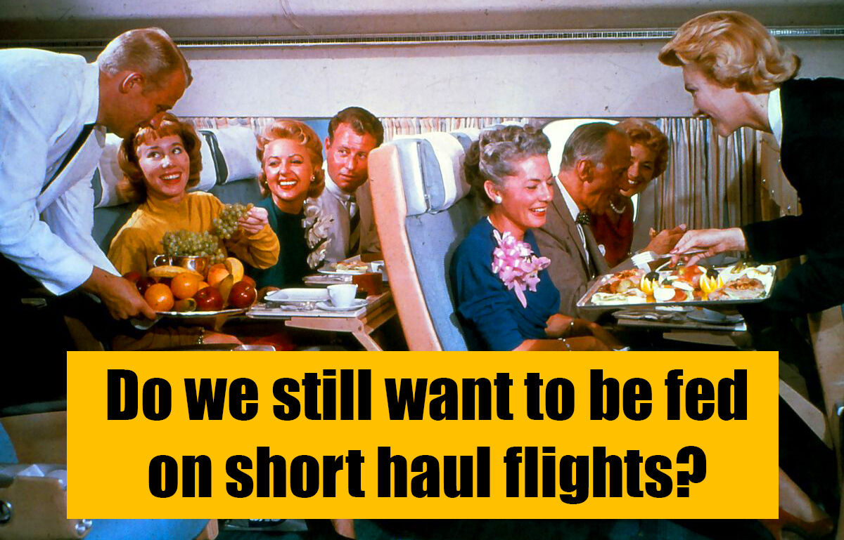 We're flying again, but passengers don't want to eat on short haul flights | VIDEO | Thaiger