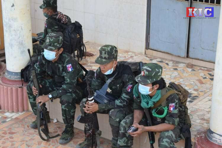 Children in Thai border town trained to duck and cover in case of Myanmar conflict | Thaiger