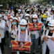 Myanmar's military releases 600 detainees after today's silent protest by anti-coup demonstrators | Thaiger