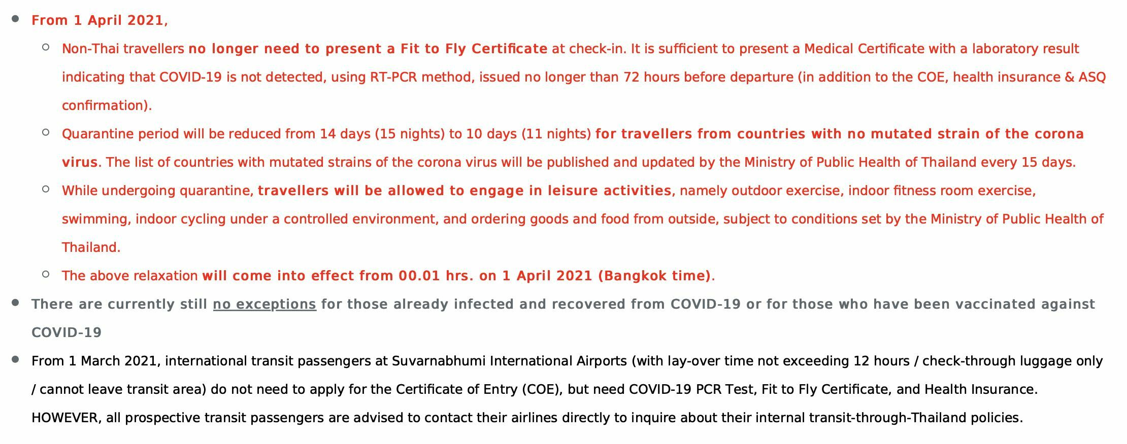 Thai quarantine confusion - do ASQ hotels know about April 1 changes? | News by Thaiger