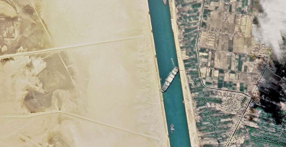 The cost of one stuck ship in the Suez Canal – rising costs of fuel, household goods, food | Thaiger