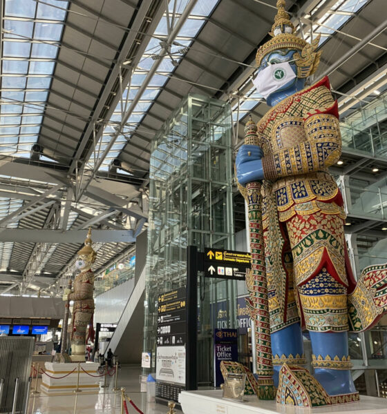 """Sealed route"" set at Bangkok airport for international transfers 