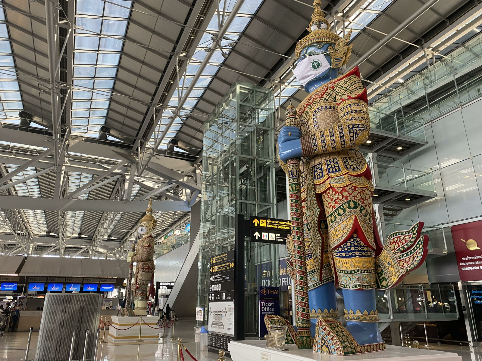 """""""Sealed route"""" set at Bangkok airport for international transfers 