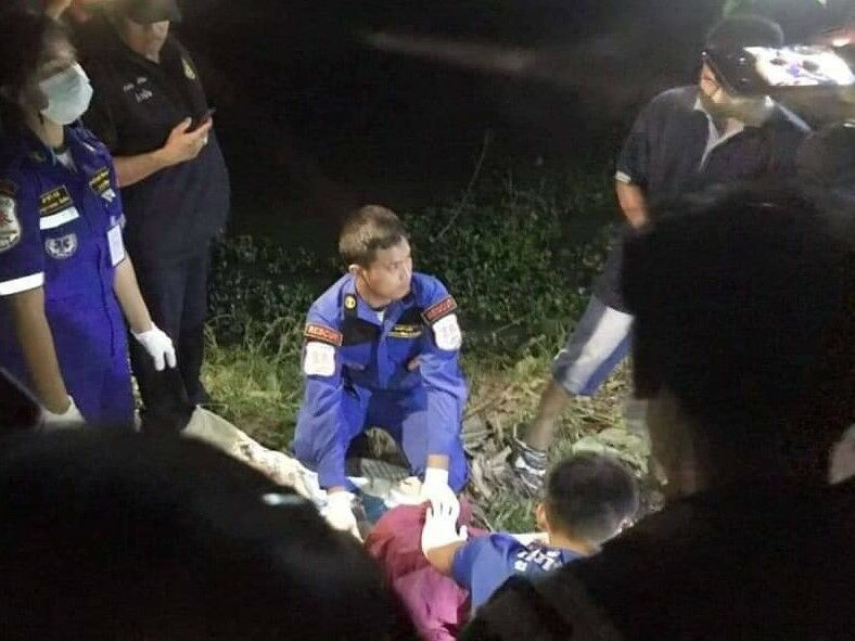 Thai man confesses to cutting wife's throat and dumping her body in a pond | Thaiger