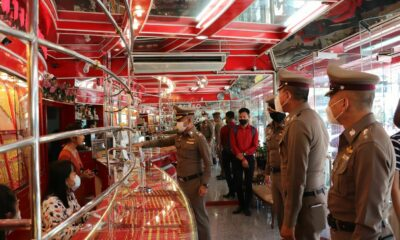 Police step up Phuket gold shop inspections to increase security | Thaiger