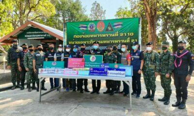 Mekong drug bust: methamphetamine seizure valued at 20 million baht | Thaiger