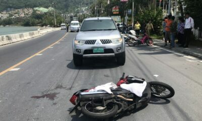 Most motorcycle accidents in Thailand involved cars cutting in front of traffic   Thaiger