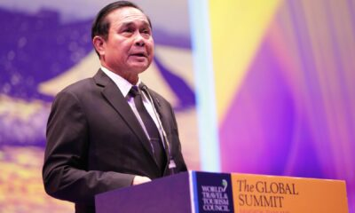 """Thai PM receives 3 finger salutes for his birthday from """"well – wishers"""" 