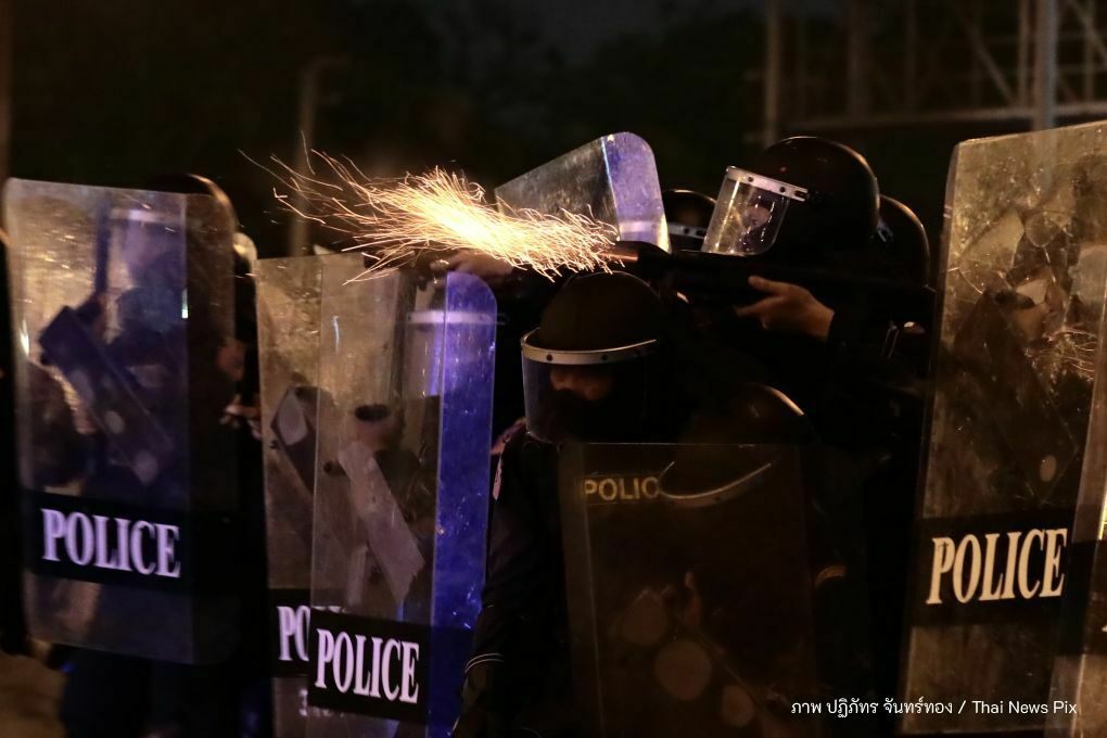 Riot police officer in Bangkok tests positive for Covid-19 | The Thaiger