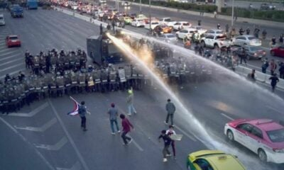At least 22 people arrested at Bangkok protest, officer dies of heart failure | Thaiger