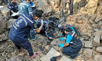 Woman's charred remains found near northern Thailand rubber plantation | The Thaiger
