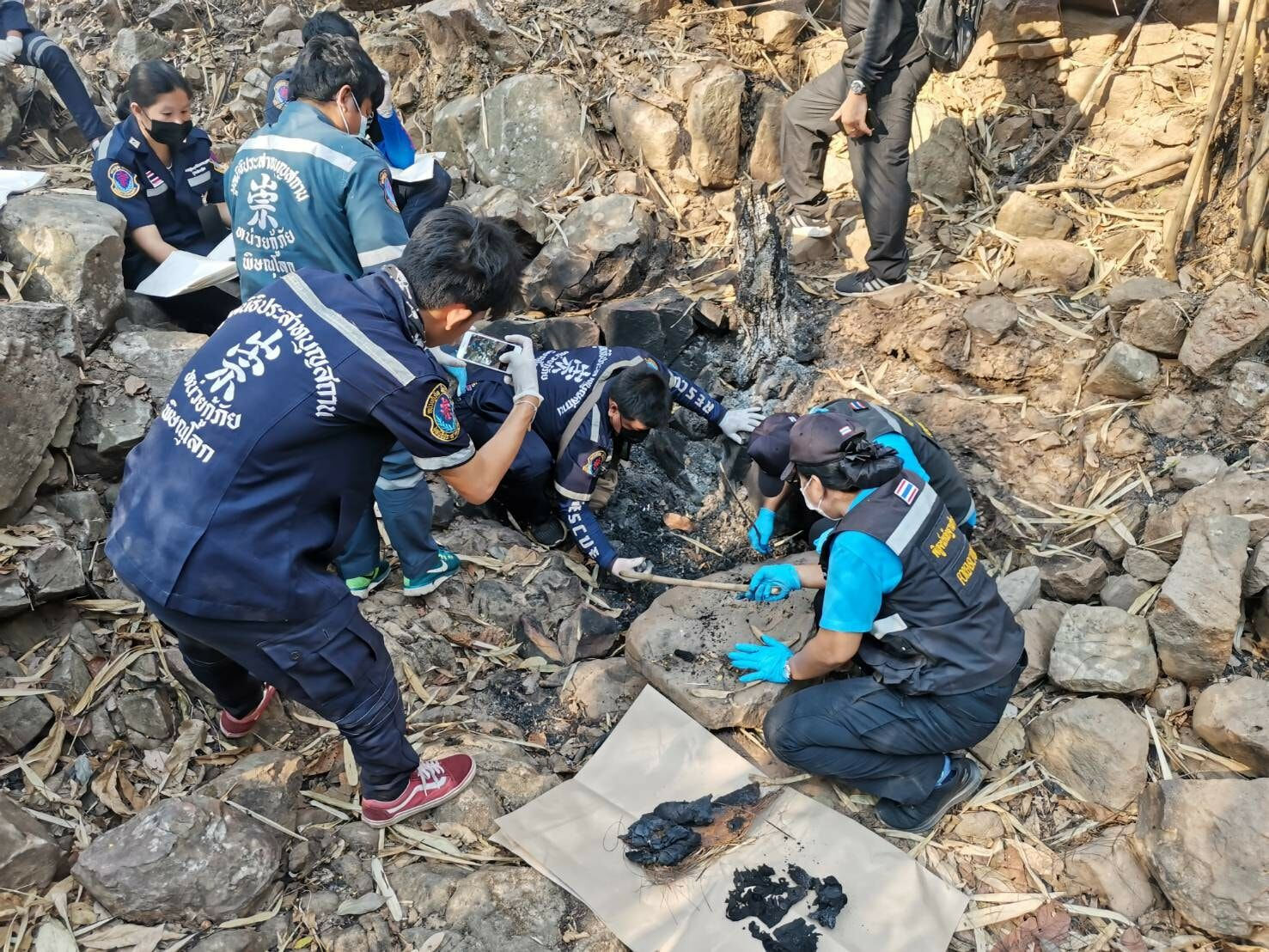 Woman's charred remains found near northern Thailand rubber plantation | Thaiger