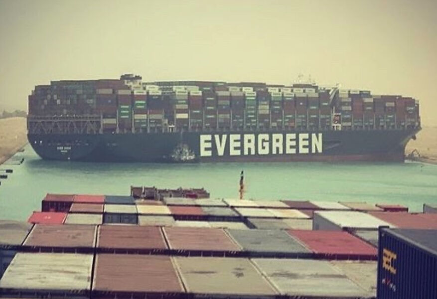 Stuck ship partially freed, Thai exports look to bypass Suez | Thaiger