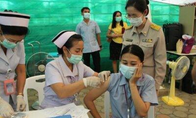 Around 7,000 people in Bangkok have been fully vaccinated against Covid-19 | Thaiger