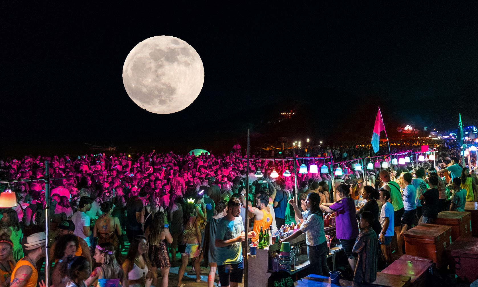 Has the full moon set on Koh Pha Ngan's Full Moon Party? | Thaiger