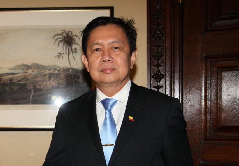 London's anti-coup Burmese Ambassador locked from embassy   Thaiger