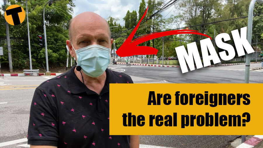 """Thailand's """"problem foreigners"""" who don't wear masks. Really?!   VIDEO   Thaiger"""