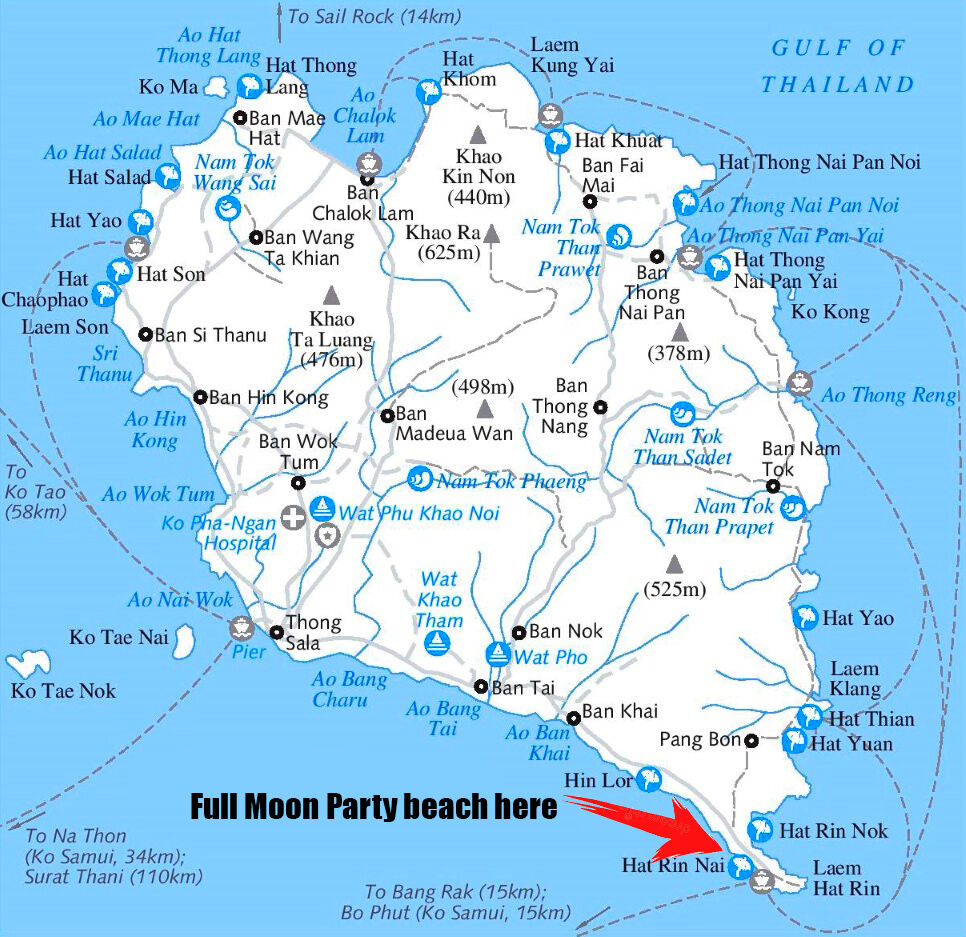 Has the full moon set on Koh Pha Ngan's Full Moon Party?   News by Thaiger