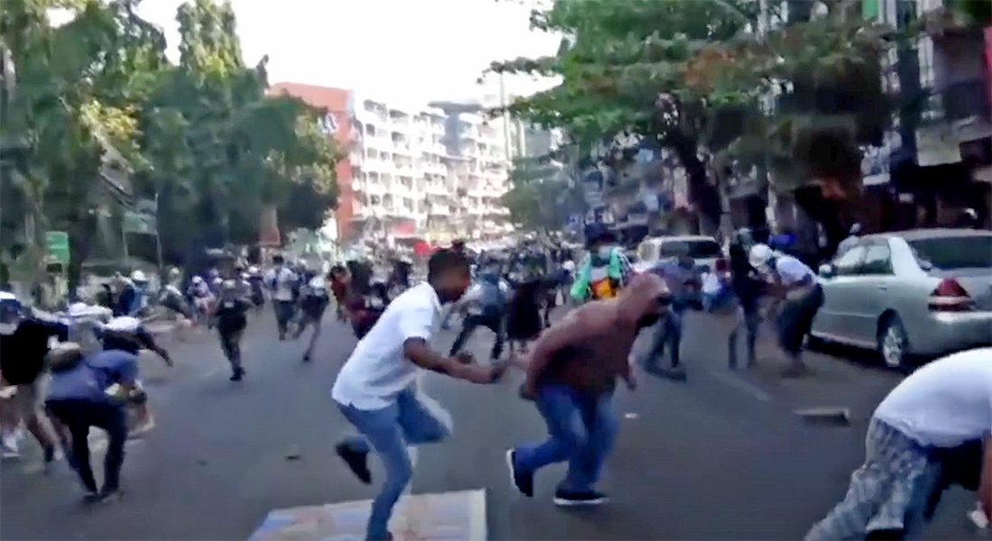 10 rebel groups in Myanmar throw their support behind anti-coup protesters | VIDEO | Thaiger