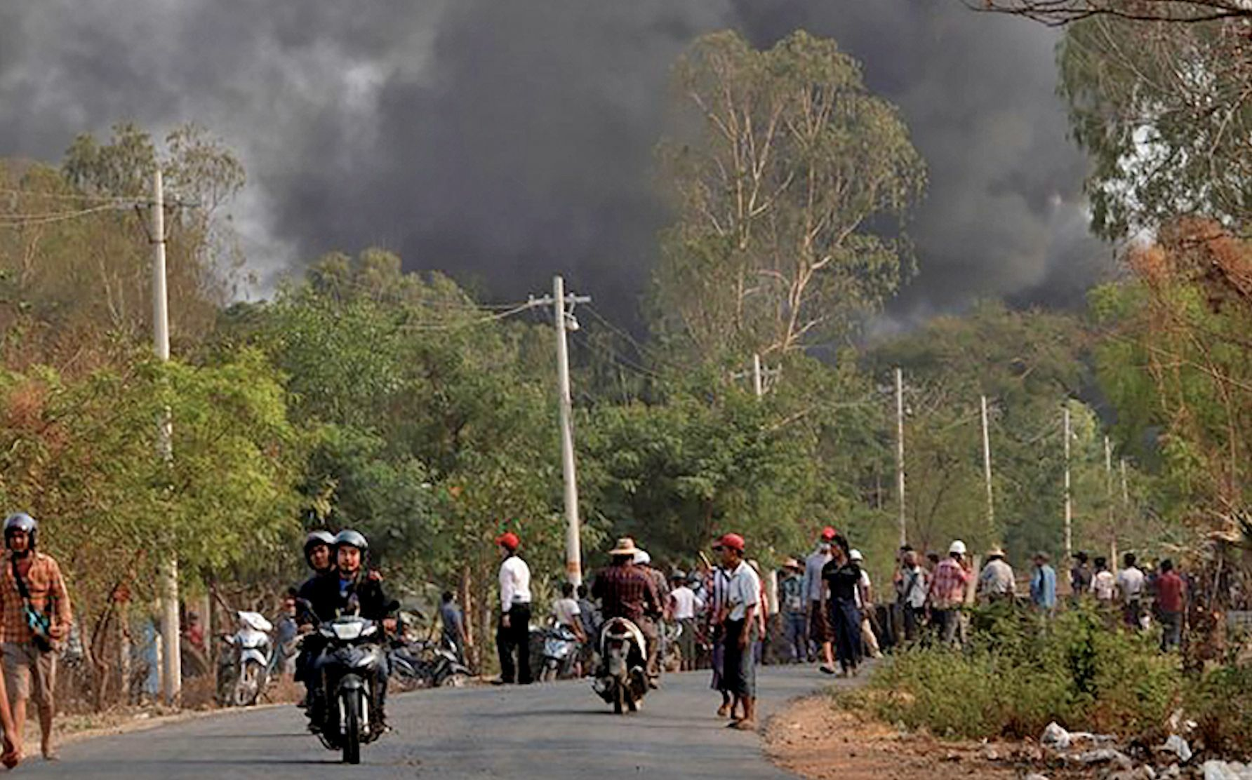 More bitter clashes yesterday in Myanmar with the toll rising to 618 | Thaiger