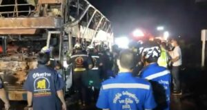 Thailand News Today | Tour bus disaster, Covid infections drop slightly | April 13 | Thaiger