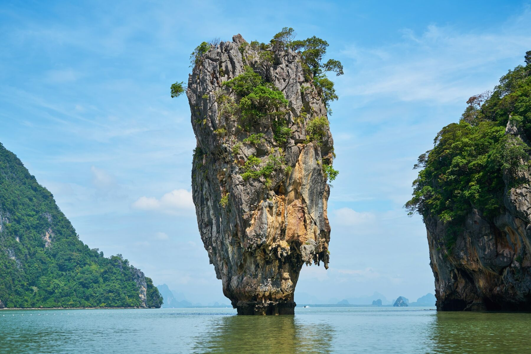 """James Bond Island"" to be assessed for stability after the collapse of similar rock formations 