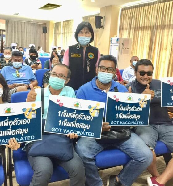 25,000 people injected with Covid-19 vaccine this week in Koh Samui   Thaiger