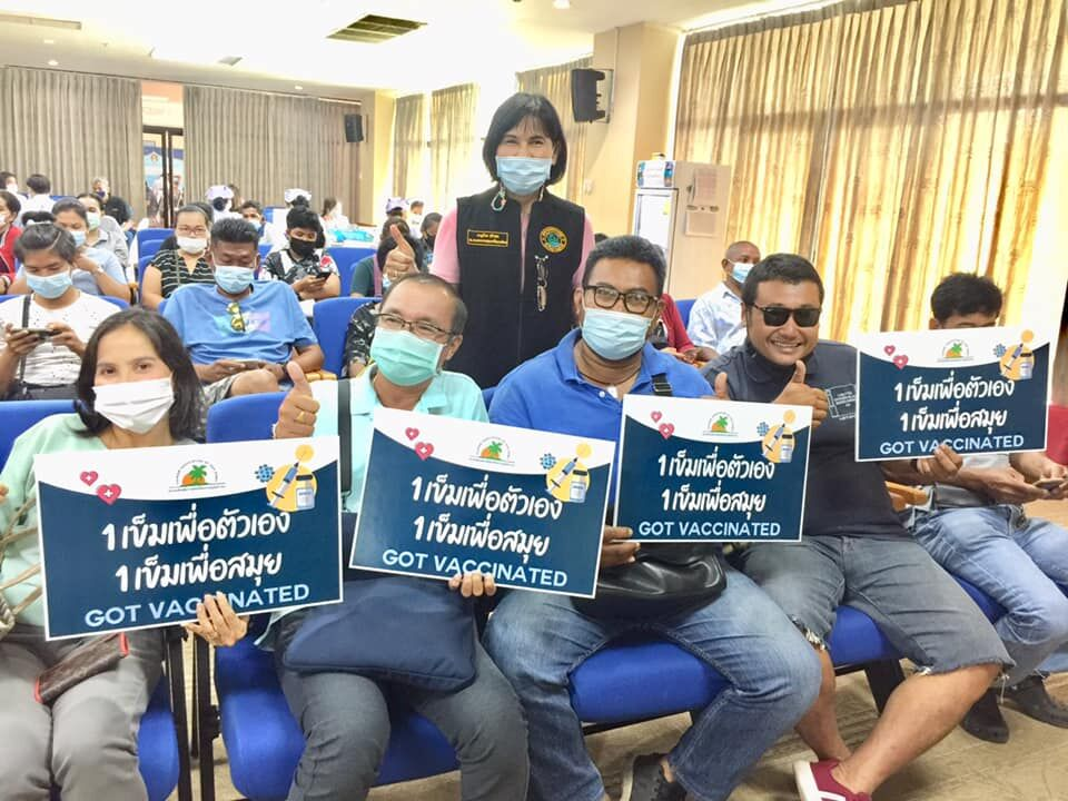 25,000 people injected with Covid-19 vaccine this week in Koh Samui | Thaiger