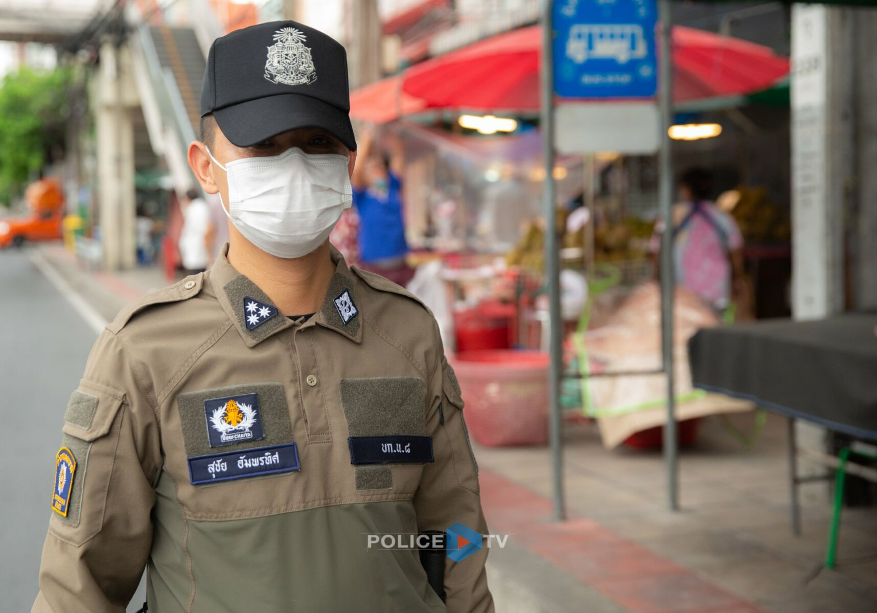 Royal Thai police say new uniforms will help in pursuit of criminals | News by Thaiger