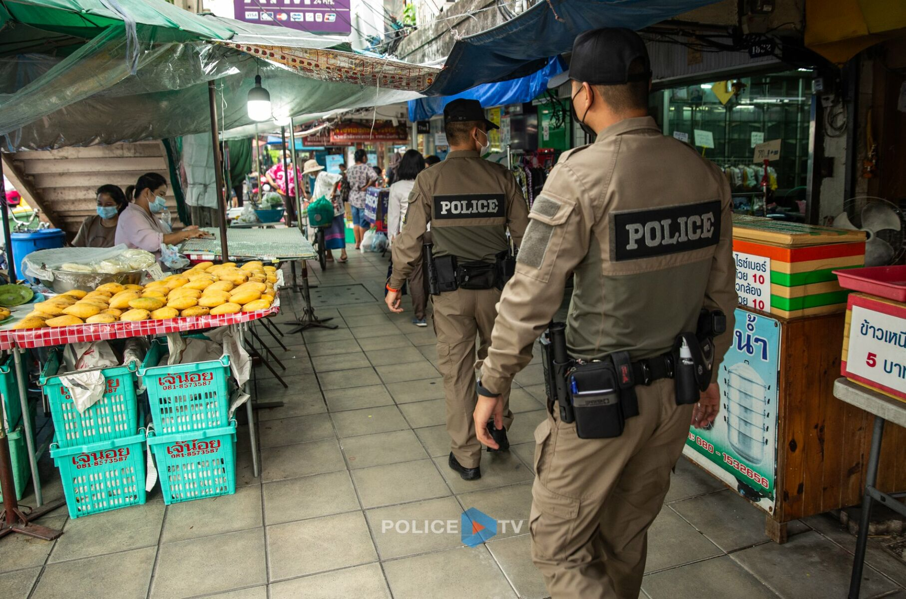 The Boys in Brown go 2-tone khaki - Thailand's new police uniform on trial | News by Thaiger