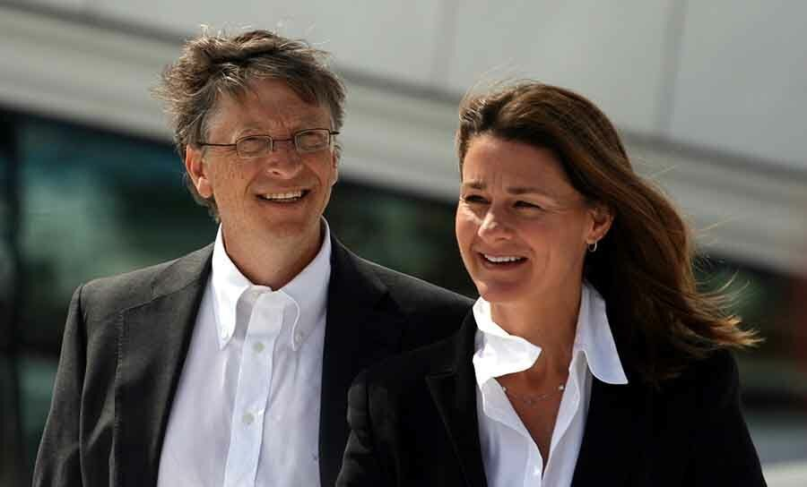 Bill and c Gates divorced after 27 years of marriage