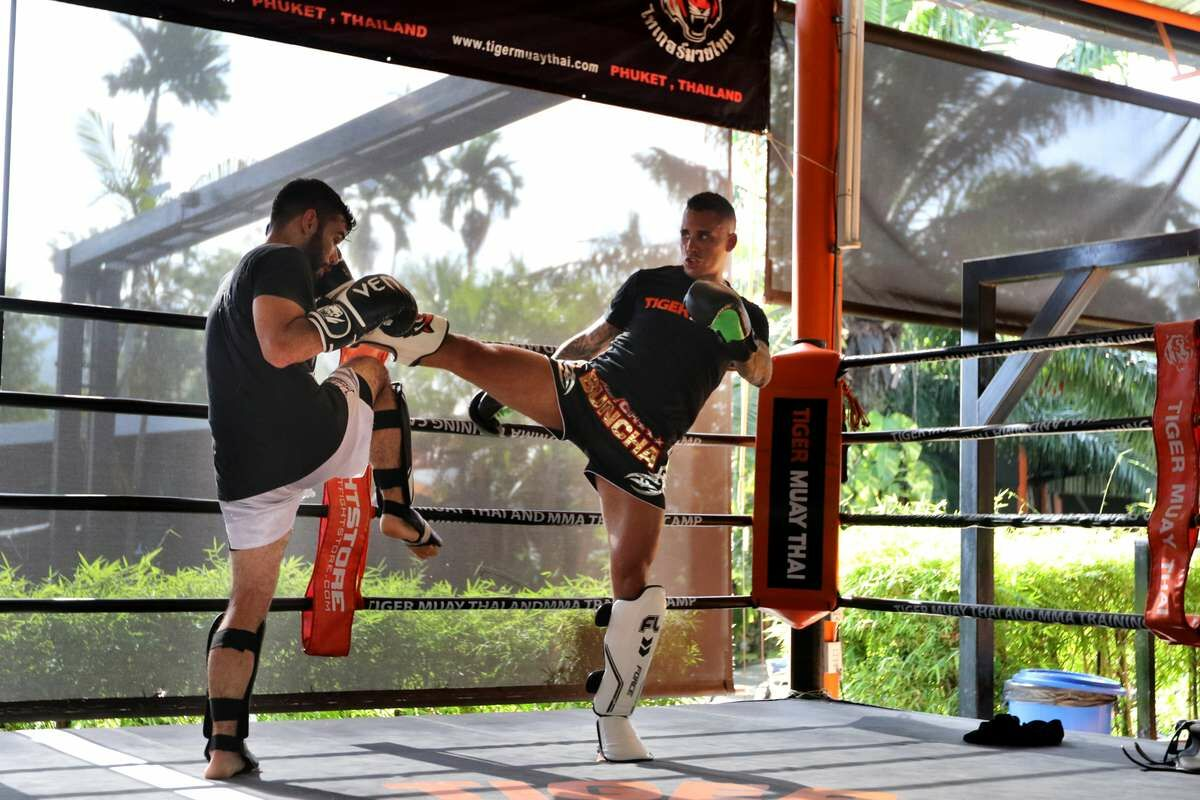 Muay Thai Class in Tiger Muay Thai and Mixed Martial Arts