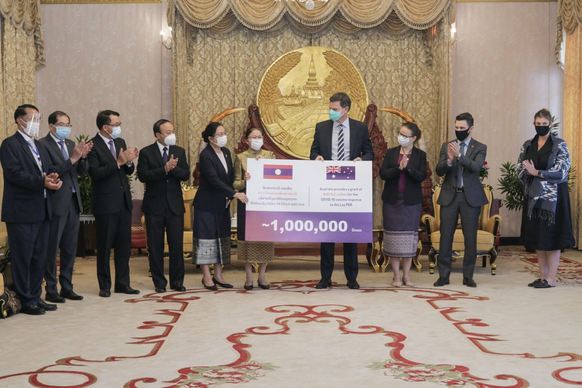 Australian government provides grant to cover 1 million vaccine doses in Laos