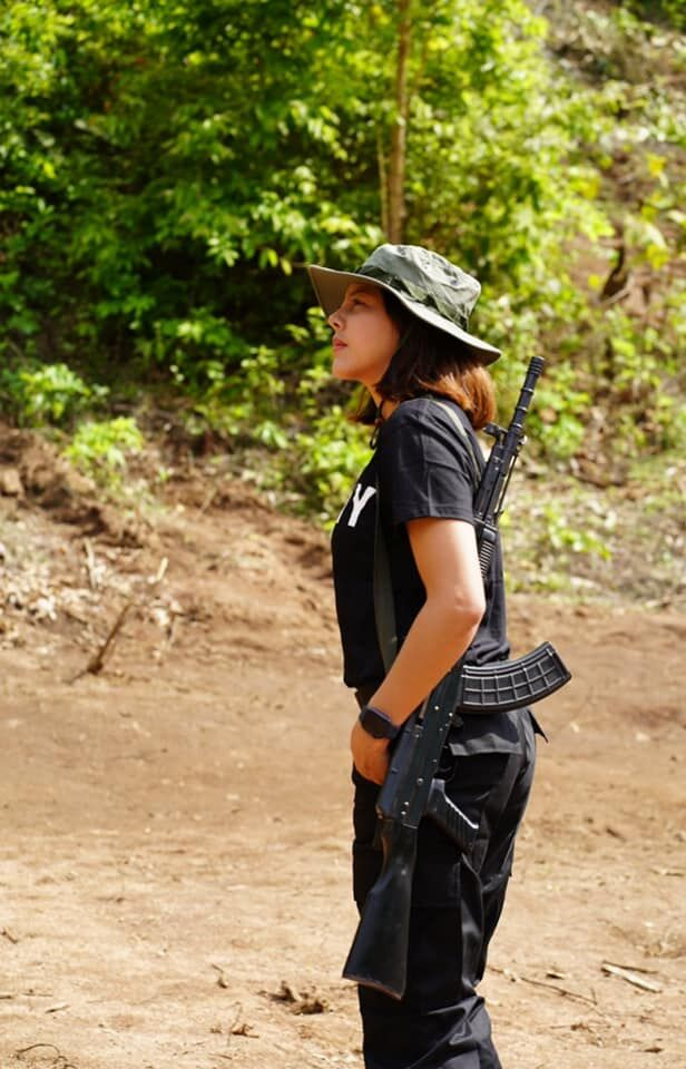 Former pageant queen in Myanmar sides with ethnic armies opposing military coup | News by Thaiger