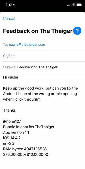 Thaiger app sending you too many notifications? Quick fix here | News by Thaiger
