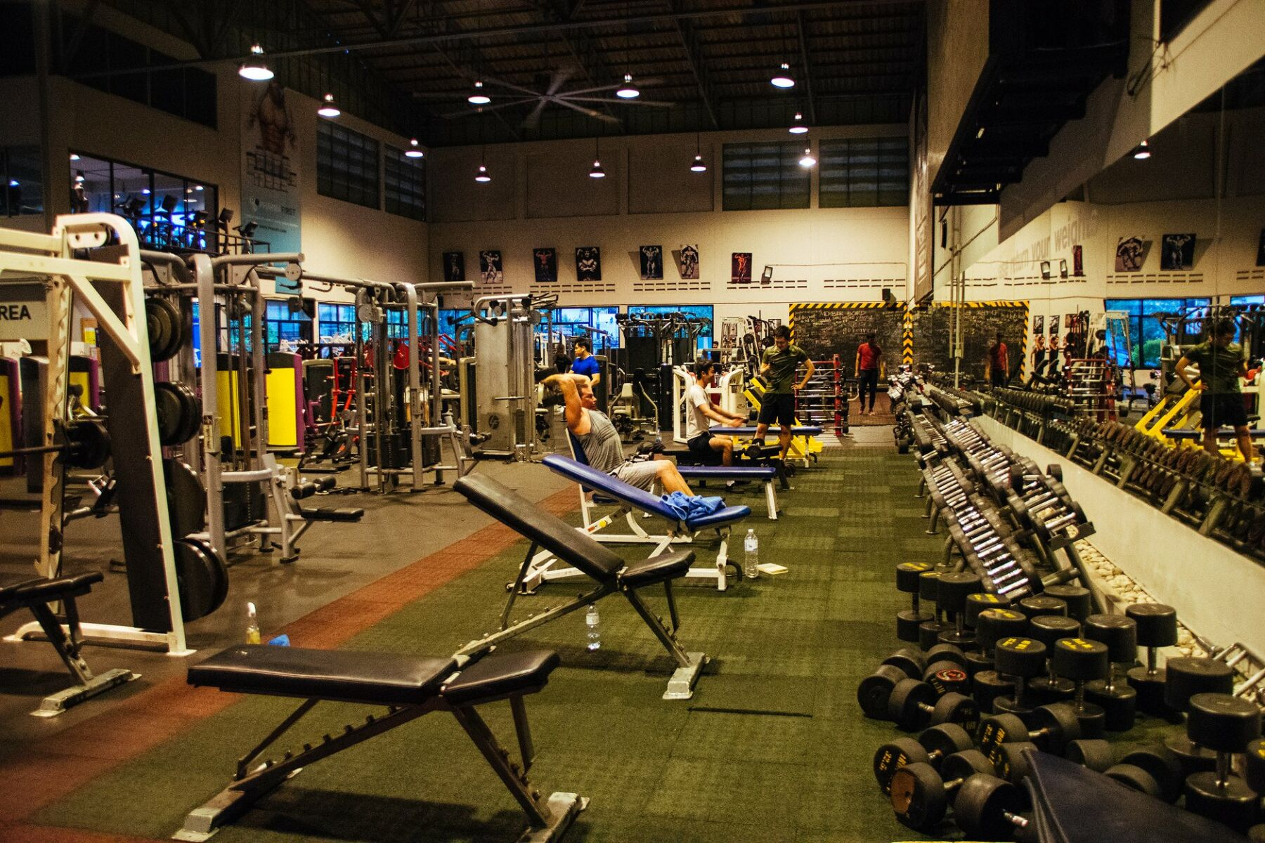 Muscle Factory - One of the best gyms in Bangkok