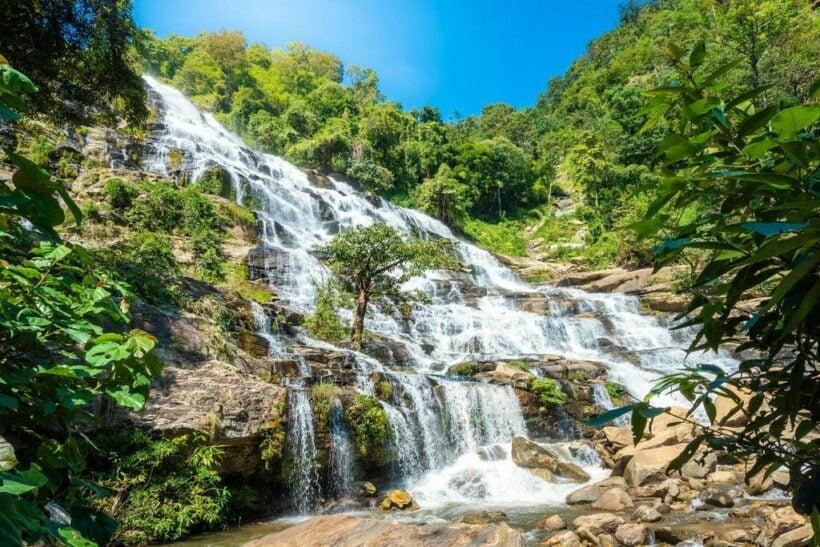Mae Ya Waterfall - one of most beautiful waterfalls in Thailand