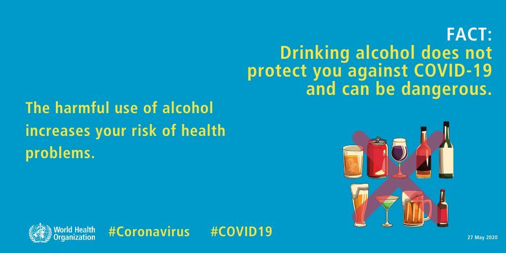 Myth busted: Drinking alcohol does not kill Covid-19 - VIDEO | News by Thaiger
