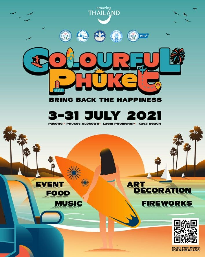 "Phuket unveils ""colour"" festival to reinvigorate economy   News by Thaiger"