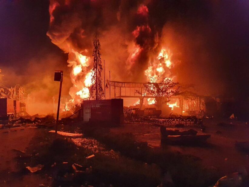 UPDATE: Rescuer killed, at least 60 injured in Samut Prakan factory explosion | News by Thaiger