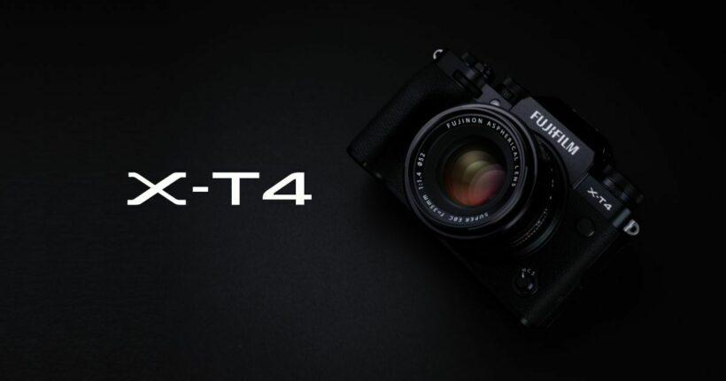 Fujifilm X-T4 - one of the best digital cameras