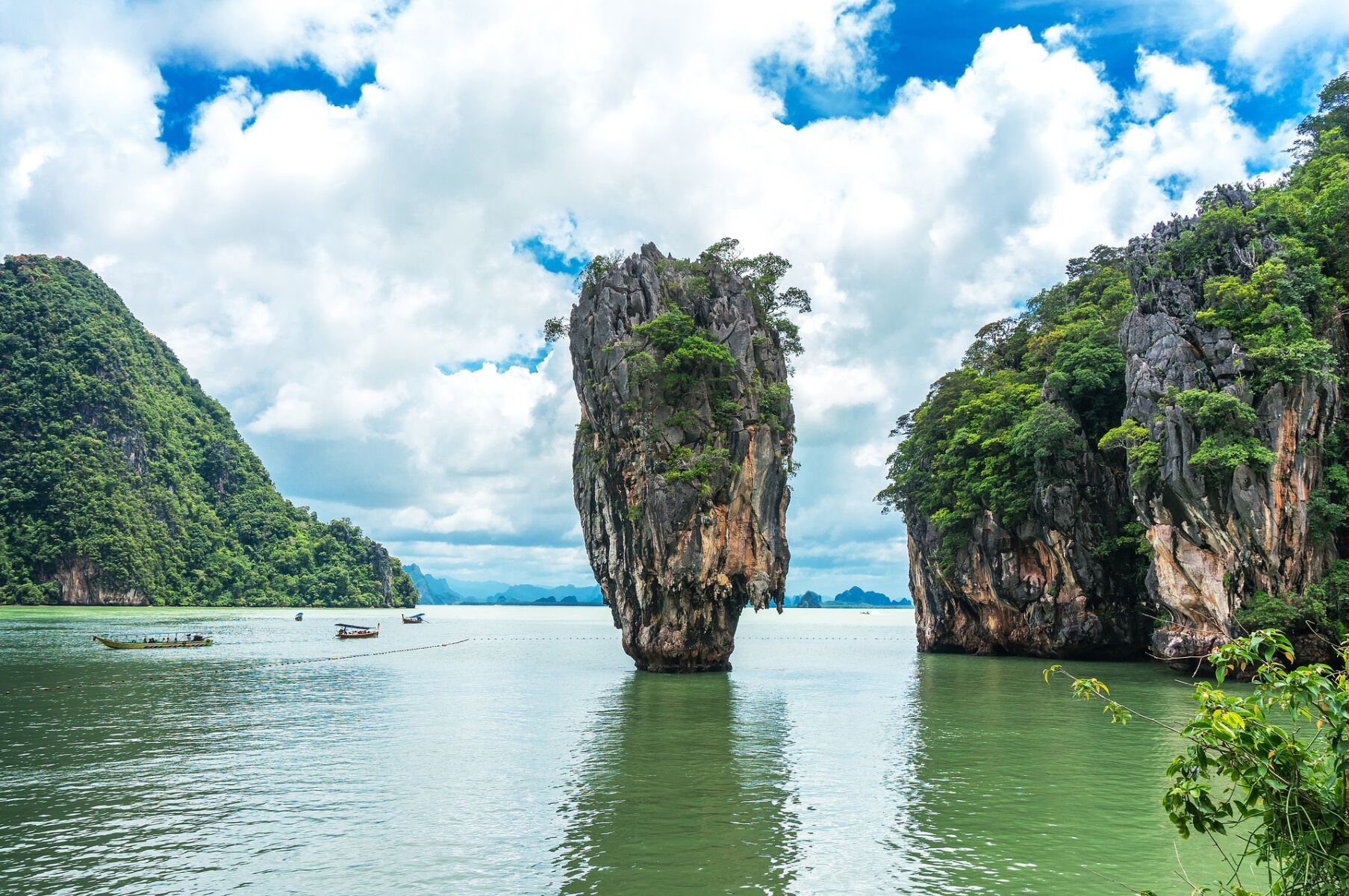 James Bond Island. Image by Max Liew from Pixabay