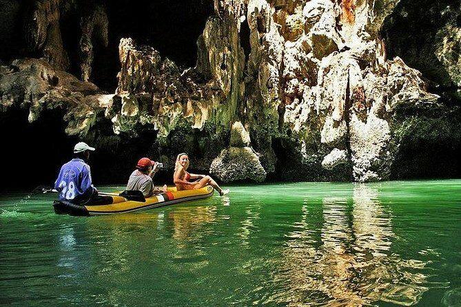 Phang Nga Bay - One of the best Phuket tours. Photo via Viator